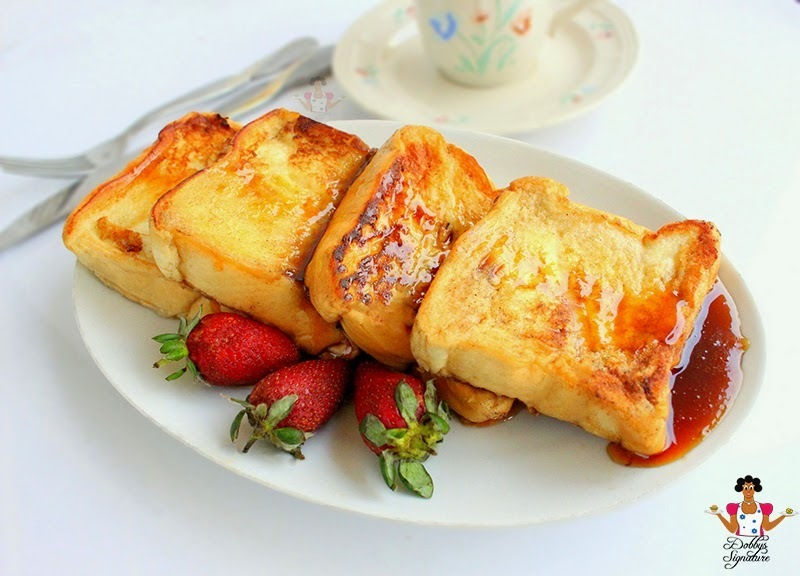Naija Toast - French toast recipe using agege bread