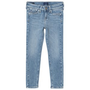 Pepe Jeans Pixlette Light Wash Skinny Jeans Blå 6 years