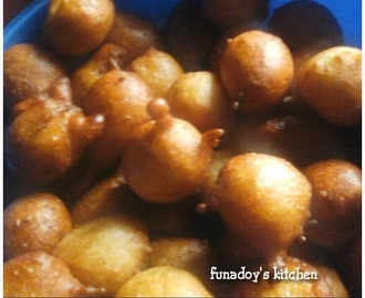 Flavoured Puff Puff Recipe  (Ajuwaya's treat)