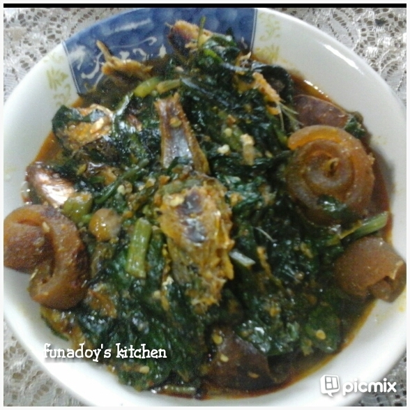 Healthy Efo Riro (Nigerian Vegetable)