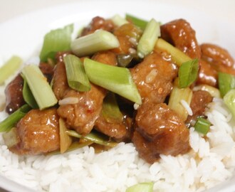 Easy Breezy Orange Chicken & Jasmine Rice