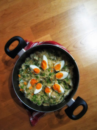 o's favourite kedgeree and its relations with kichari