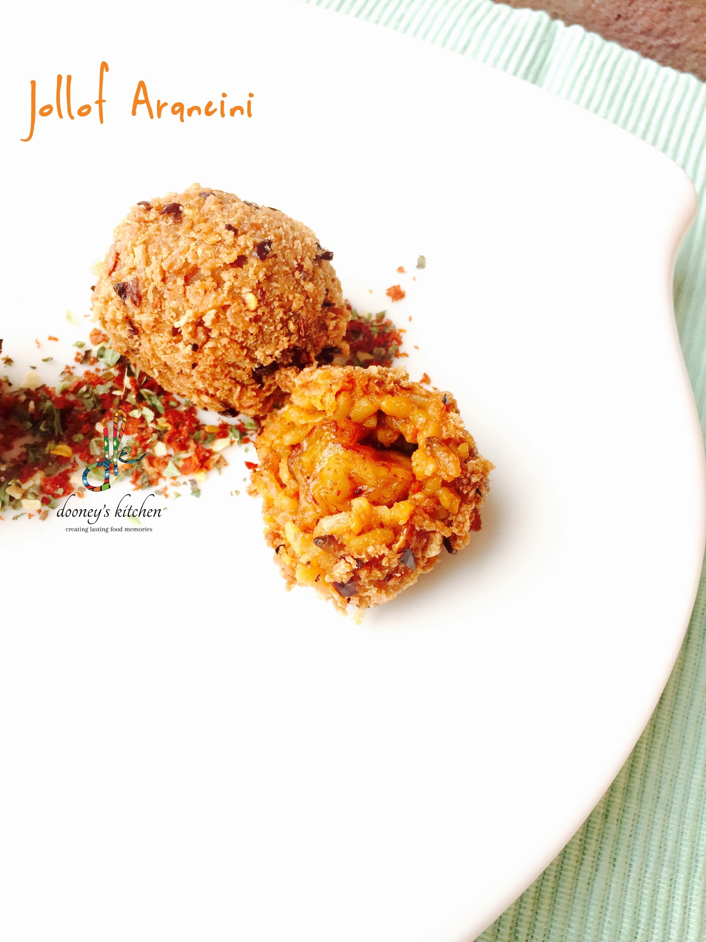 Jollof Arancini – an evening at the Waitrose Cookery School