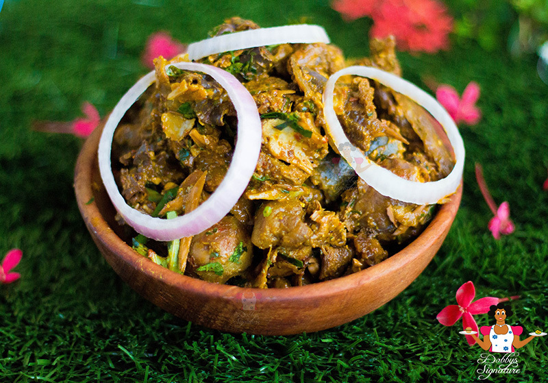 Isi ewu recipe - How to make isi ewu (Sauced goat head)