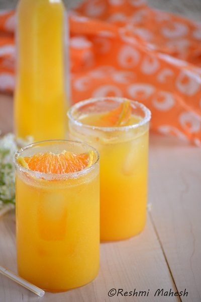 Pineapple Orange Agua Fresca