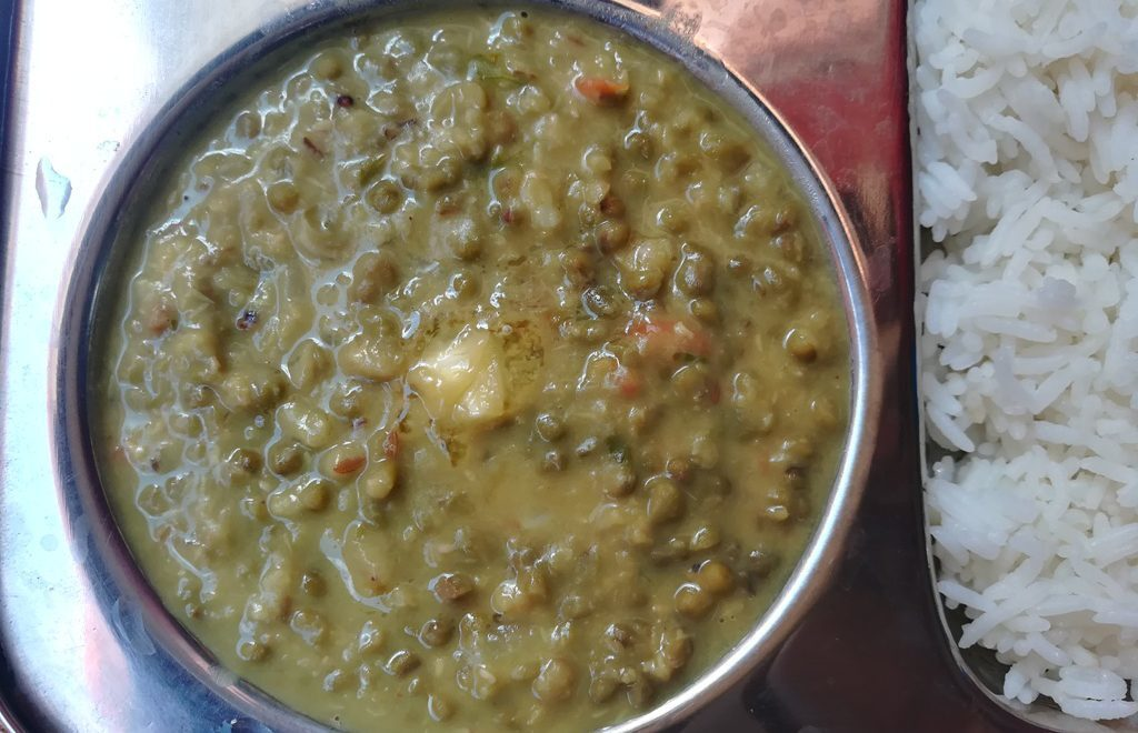 Pachai Payaru Paruppu, how to make Pachai Payaru paruppu, Green gram dal recipe