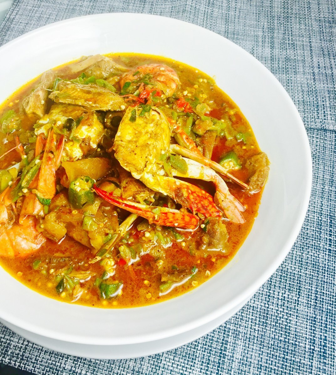 Abak Etighi – the kitchen sink Okro Soup