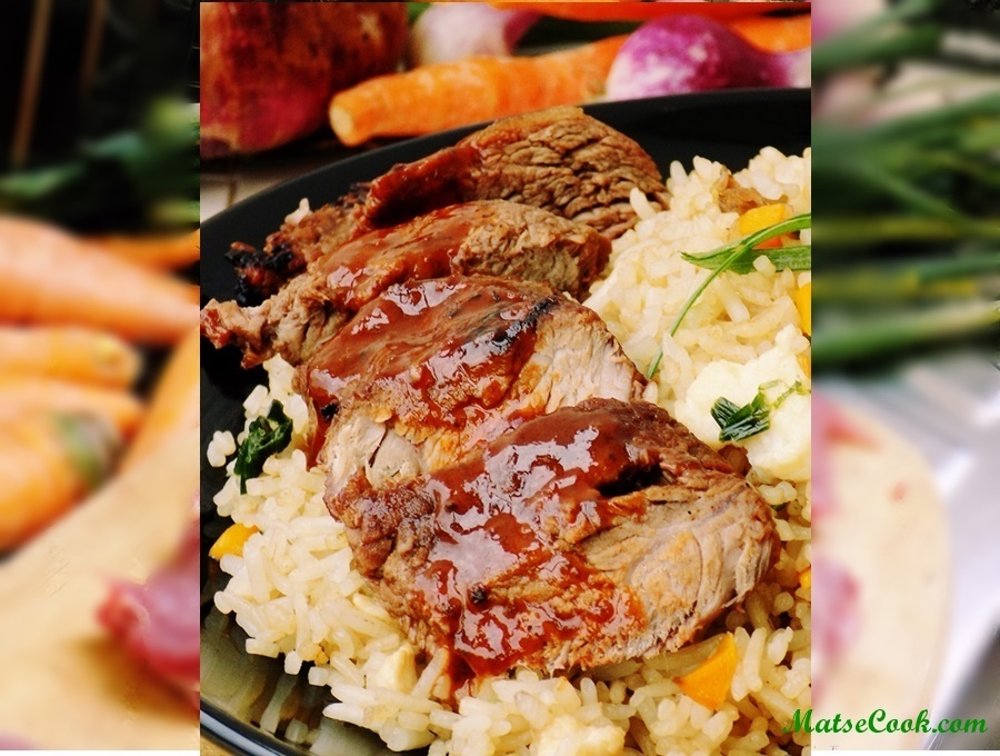 Marinated Roast Beef