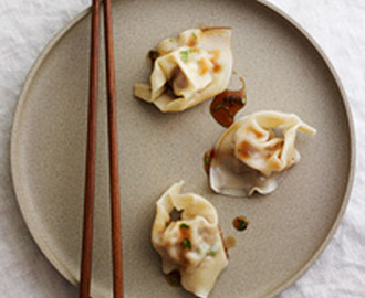 Martin Yan's Wontons in Hot and Sour Sauce