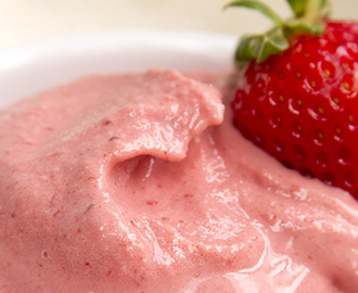 Quick Strawberry Ice Cream