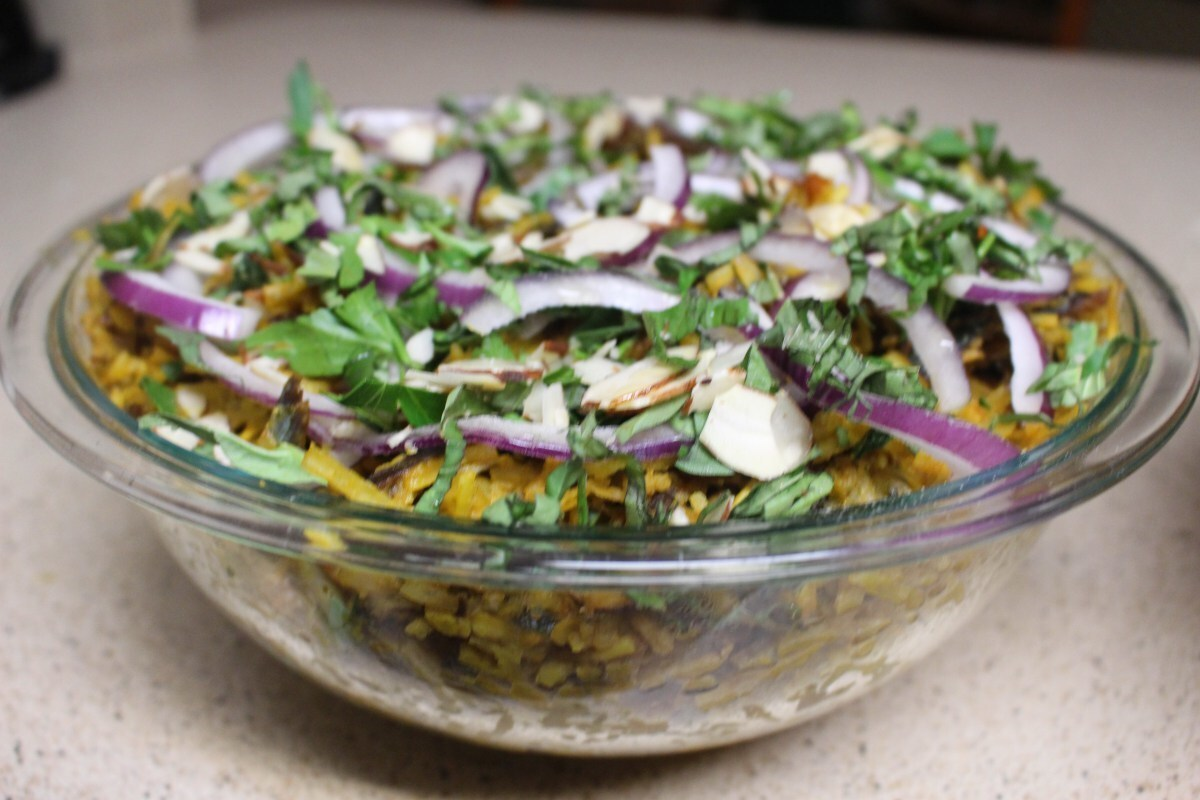 African Salad With Cumin & Italian Fuse