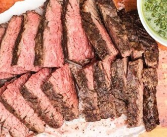 FLAP STEAK -  EN GRILL FAVORIT | Foodfolder - Vin, matglädje och inspiration!