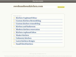 Swede and Sour Kitchen