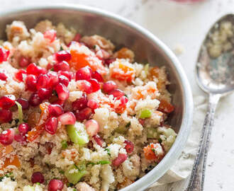 Bloemkool couscous – Halverwege de whole30