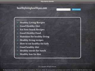 Healthy Living, Healthy Us