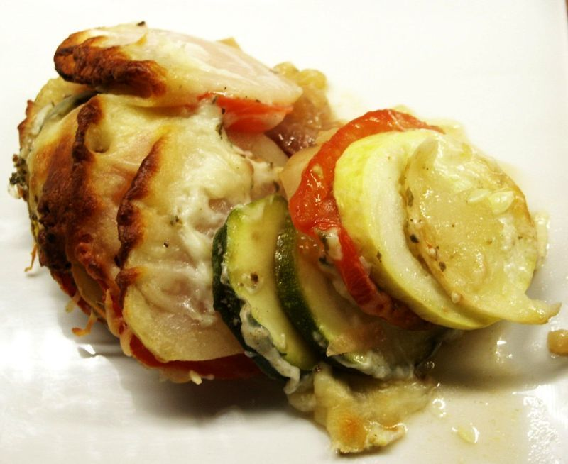 Vegetable Tian and a Farewell from Moveable Feasts
