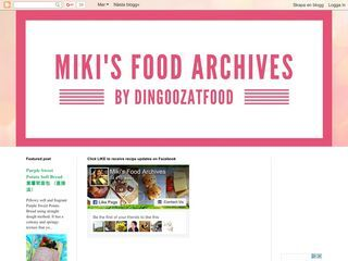 Miki's Food Archives