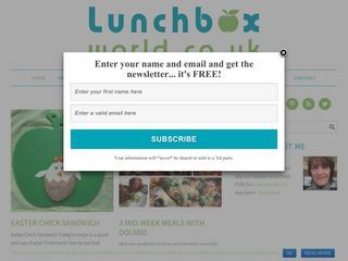 The Lunchbox World Blog