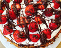 Super light everyday fruit and cream gateau