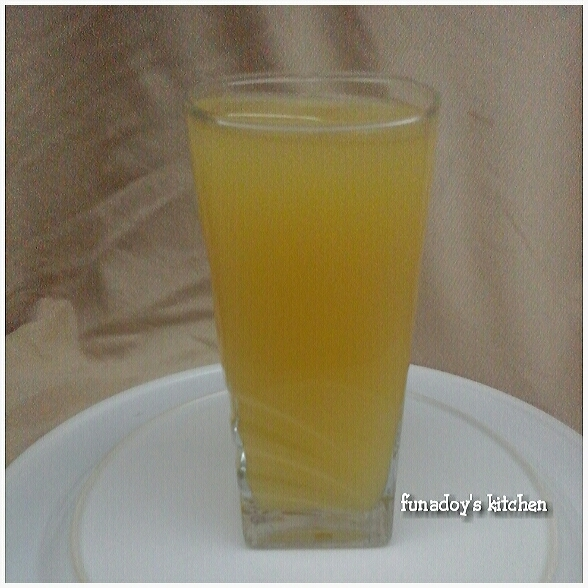 Homemade Orange Juice Recipe