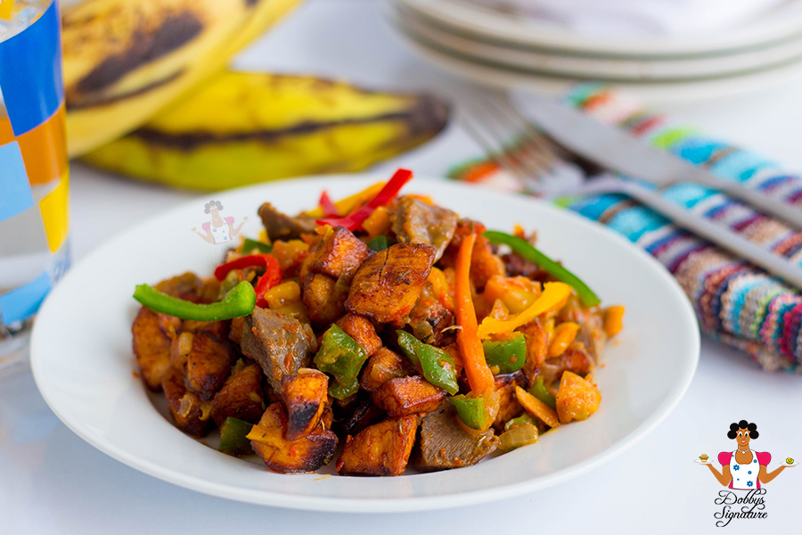 Gizdodo (Gizzard & Plantain) Recipe
