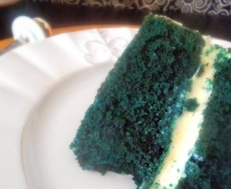 Blue Velvet Layer Cake