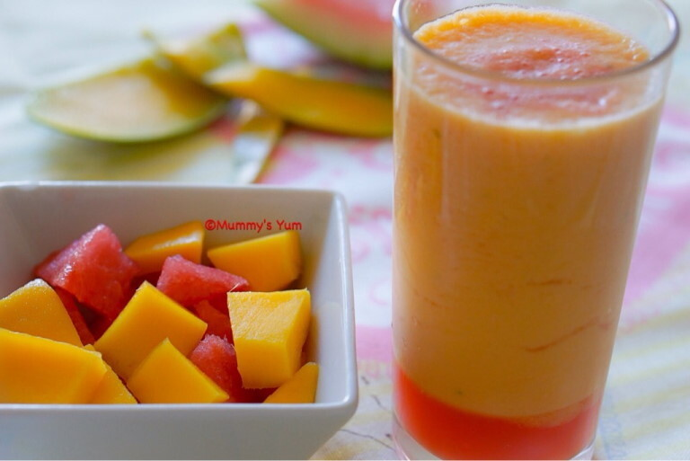 Mango And Watermelon Smoothie