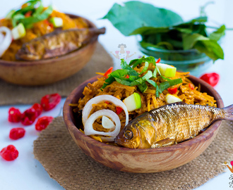 Abacha African Salad Recipe (Abacha ncha with Ugba) - Video
