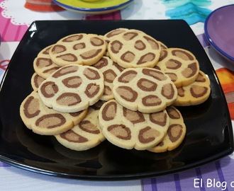 Galletas de leopardo
