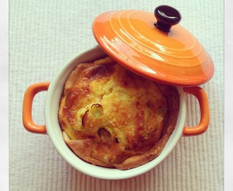 Mini quiche in een cocotte