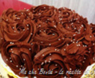 Torta Guadalupe (Chocolate and banana mousse cake)