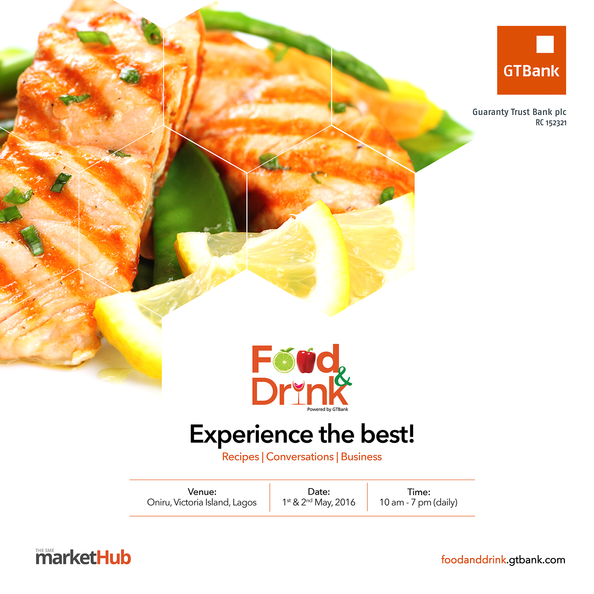GTBank Spices up Lagos with Food and Drink Fair - Foodies you can't miss this!