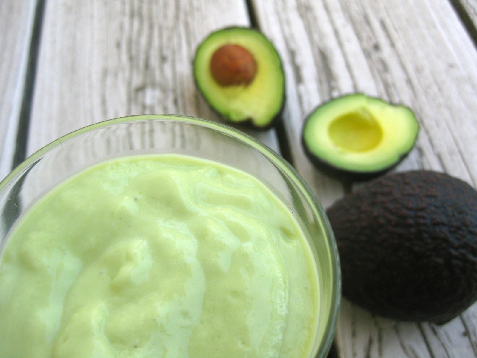 Two Avocado Smoothies