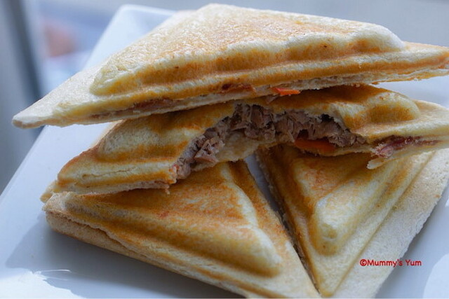 Egg Tuna Toastie
