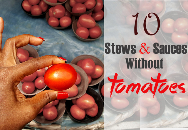 10 Stews & Sauces without Tomatoes