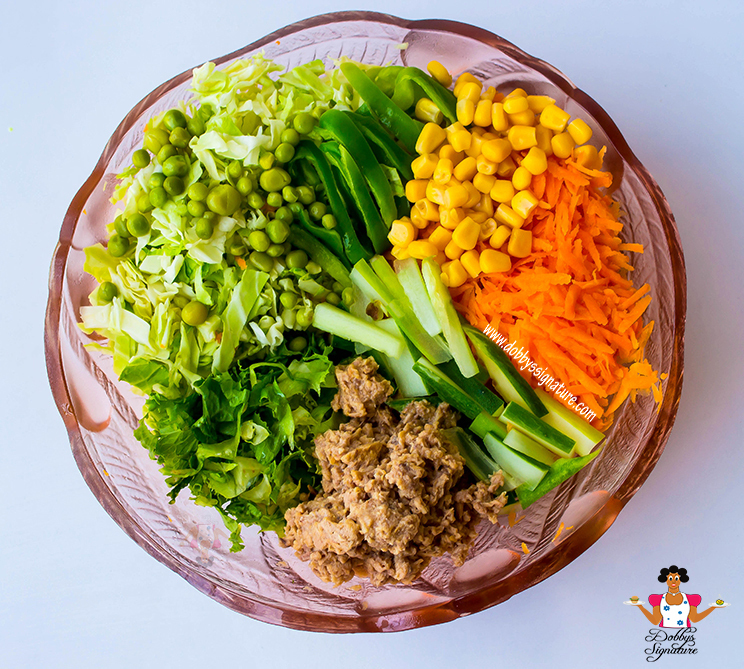 Tuna Vegetable Salad Recipe