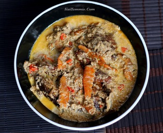EGUSI PEPPERSOUP RECIPE  (OIL-LESS EGUSI SOUP)
