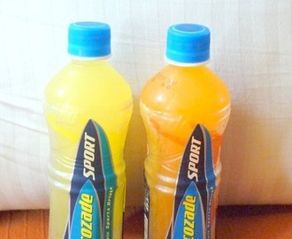 Lucozade Sport by GSK - A Product Review
