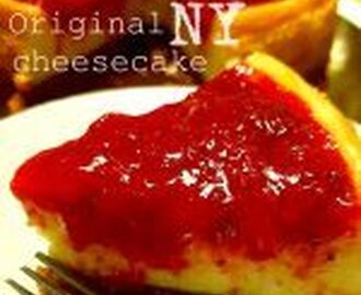 New York cheesecake ricetta originale cotta al forno
