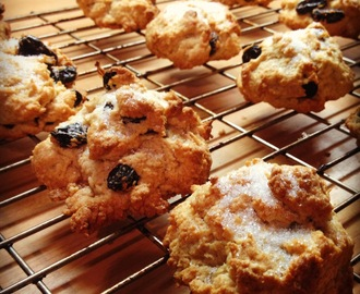 Vegan Recipe of the Week - Vanilla Rock Cakes