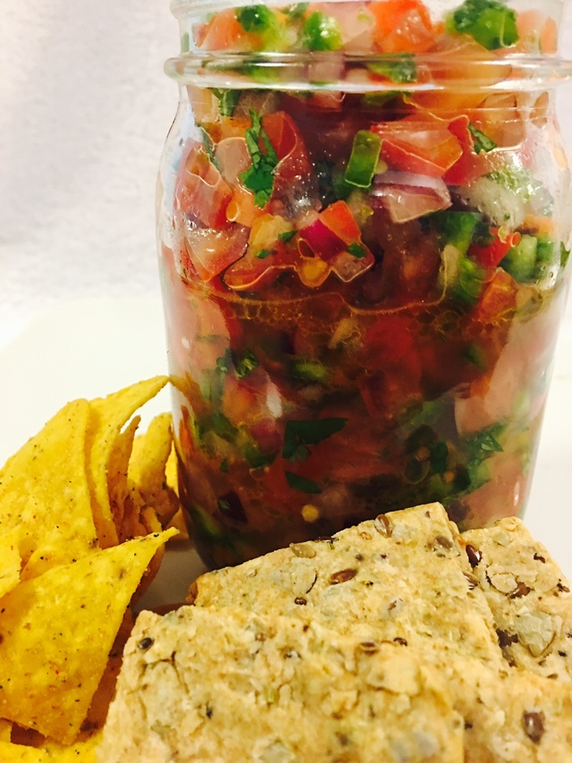 PK Nigerian Style Spicy Salsa & Plantain Chips – TOMATOES SERIES