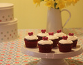 How to make: Valentine's Red Velvet Heart Cupcakes
