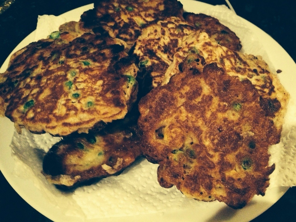 Quick Family Meals – Corned Beef and Mixed Veg Fritters
