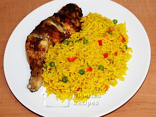 Turmeric Rice (Yellow Rice)