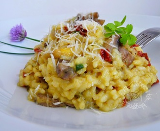 Risotto so špargľou
