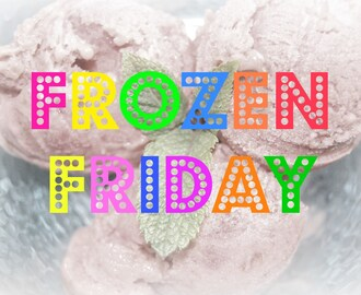 Frozen Friday #3 - Frozen Yogurt Zitrone-Minze