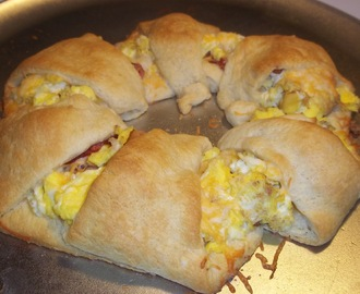 Bacon Egg and Cheese Ring