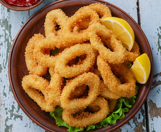 Fritto light di calamari