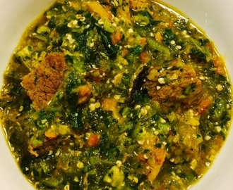 Nigerian Okra Soup – A trip to my Hometown!
