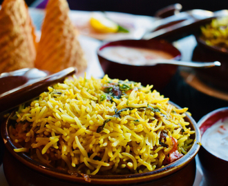 Biryani At Bombay Brasserie ~ Fine Dining Indian Restaurant at Taj Dubai